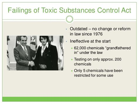toxic chemicals     fight  real reform