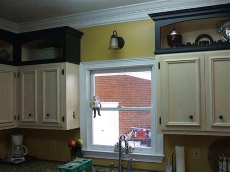 Pimping a Kitchen with Add on Cabinet Toppers   by David