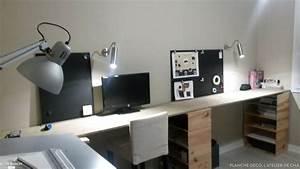 Planche De Bois Pour Bureau : planche pour bureau ~ Teatrodelosmanantiales.com Idées de Décoration