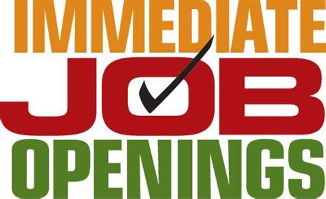 Immediate Openings On Jetatl