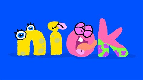 nick jr bumper spongebob squarepants logo id drawing 580   maxresdefault