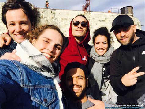 famille bureau fort boyard 2016 2e jour de tournage vu des réseaux
