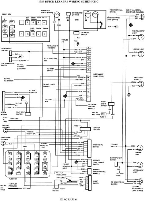1994 Buick Lesabre Ignition Switch Wiring Diagram by 1989 Buick Lesabre Wiring Schematic Schematic Wiring