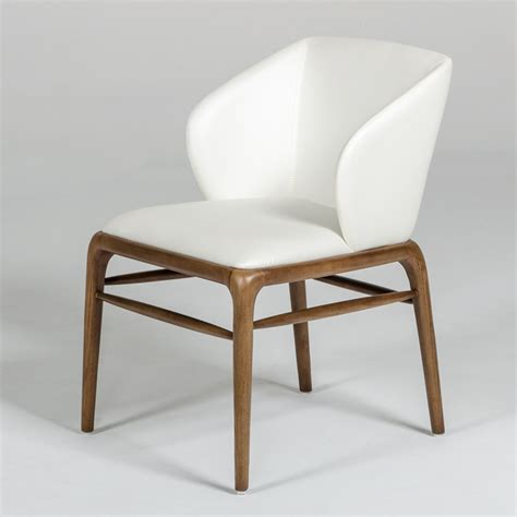 walnut dining chairs modrest kipling modern walnut dining chair 6459
