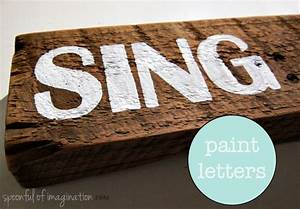 personalized painted sign tips on how to freehand With painting stencil letters on wood