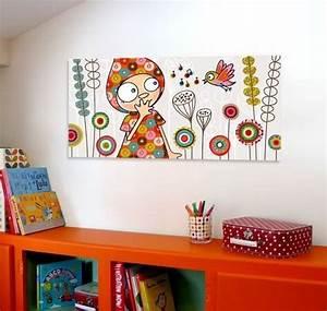 Tableau Chambre Fille : tableau chambre fille originale nursery vinyl wall decals dolls pinterest originaux ~ Teatrodelosmanantiales.com Idées de Décoration