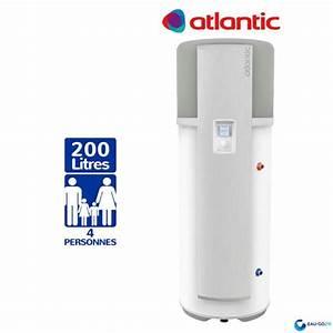 Chauffe Eau 200l Sur Socle : chauffe eau thermodynamique 200l atlantic odyss e air ~ Melissatoandfro.com Idées de Décoration