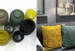 Pouf Jaune Moutarde : le jaune prend des teintes pic es joli place ~ Teatrodelosmanantiales.com Idées de Décoration