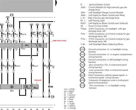 bmw e46 xenon wiring diagram