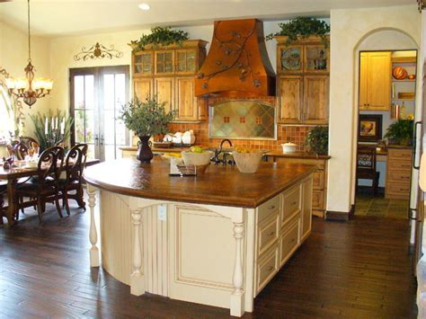 Beautiful Country Kitchen With Whimsical Accents   Rustic