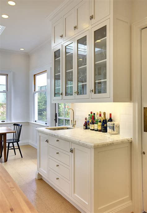 Ella Dining Room And Bar Menu by Wet Bar Cabinets With Sink Kitchen Traditional With Bar