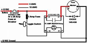 Wiring In A Relay To Toggle Switch