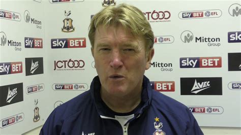 Stuart McCall after Shrewsbury Town home victory - YouTube