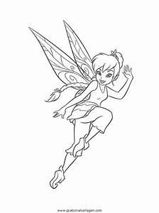 Tinkerbell, Trilly, 20, Gratis, Malvorlage, In, Comic