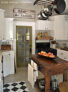 23, Best, Rustic, Country, Kitchen, Design, Ideas, And, Decorations, For, 2021