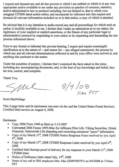 irs response letter template best photos of cp2000 response letter sle irs response letter template sle irs response