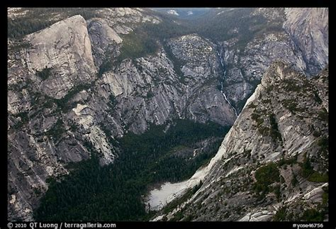 Picturephoto Tenaya Creek From Above Yosemite National Park