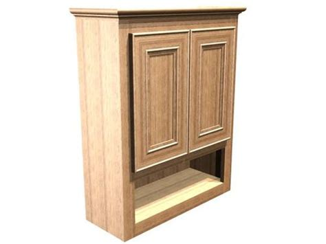 Briarwood Bathroom Cabinets Menards by Briarwood 24 Quot W X 30 Quot H X 9 Quot D Highland Wall Cabinet At