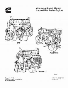 Cummins L10  U0026 M11 Repair Manual Pdf Download