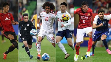 footballer  asia   contenders fox sports asia