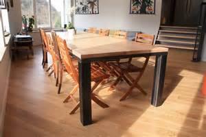 table a manger fer forge et bois deco interieure fer forg 233 table et bois
