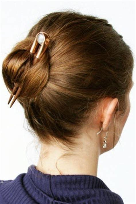 amazing bun updo ideas  long medium length hair