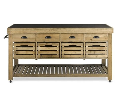 deni kitchen island reclaimed look 4 less and steals and deals 3151
