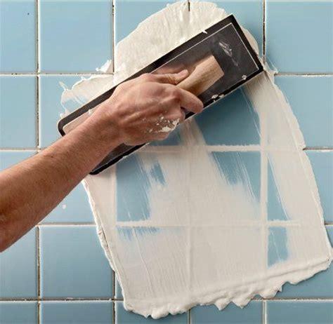 regrouting bathroom tiles    home ideas
