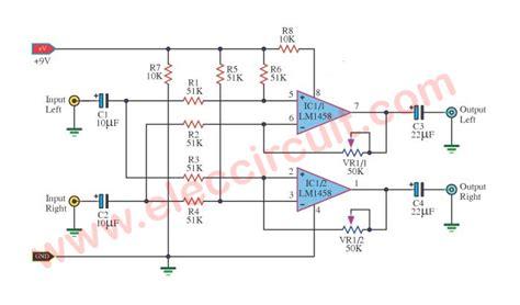 Surround Sound System Circuit Diagram Eleccircuit