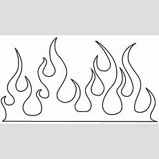 Hot Rod Flames Template  Will Appear In New Window)  Dap Of Just Flames (1)  Cake Templates