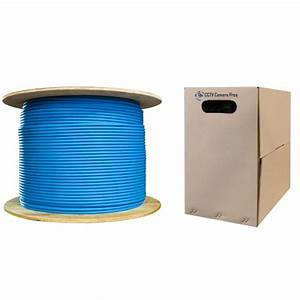 Cat 6 Network Ethernet Cable  1000 Foot Spool