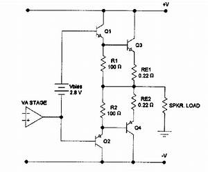 difficulties with class b amplifier biasing electrical With class b amplifier