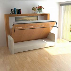 25 best ideas about murphy bed couch on pinterest With horizontal murphy bed with sofa