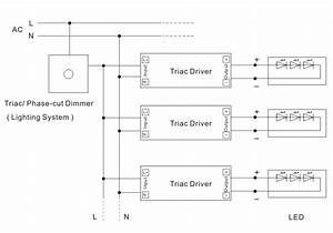 120vac Ki Series 20w Constant Current Triac Dimmable Driver