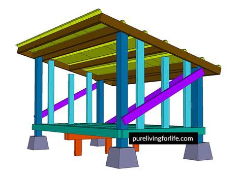 sliding compound miter saw diy firewood storage shed plans living for