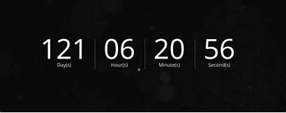 Countdown Timer Screen Backgrounds Purple Aesthetic