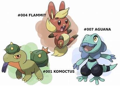 Deviantart Starters Pokemon Fan Fake Fakemon Cool