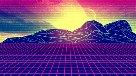 Vector Image Desktop by Synthwave Wallpapers 82 Background Pictures