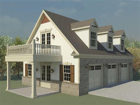 Garage Loft Plans  Threecar Garage Loft Plan With Future