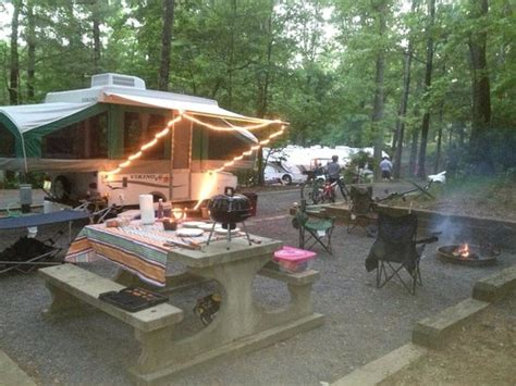 On a high peak or on the prairie. campground too! - Picture of Fort Mountain State Park ...