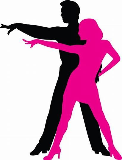 Dance Silhouette Ballroom Clipart Dancing Unique Salsa