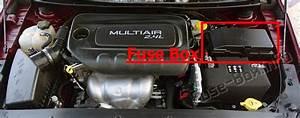 Fuse Box Diagram Chrysler 200  Mk2  2015