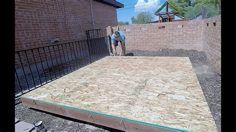 Building A Shed R by How To Build A Shed Playhouse Part 1 Building The Floor