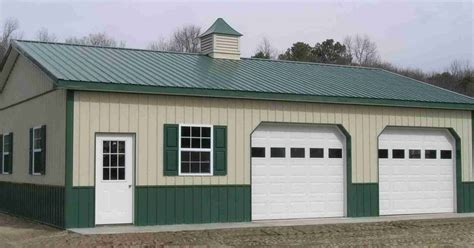pole barn garage prices pole barn garage kits 101 metal building homes