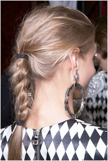 quick  easy braided hairstyles  long hair popular