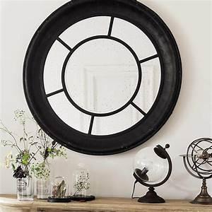 Spiegel Rund Holzrahmen : spiegel lavoiriser mit schwarzem holzrahmen d 119 cm maisons du monde ~ Whattoseeinmadrid.com Haus und Dekorationen