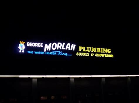 george morlan plumbing george morlan plumbing salem oregon neon signs on