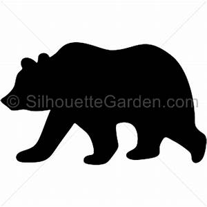Grizzly bear silhouette clip art Download free versions