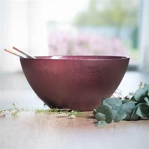 Saladier En Verre : saladier en verre design et color diam tre 30cm bruno evrard ~ Teatrodelosmanantiales.com Idées de Décoration