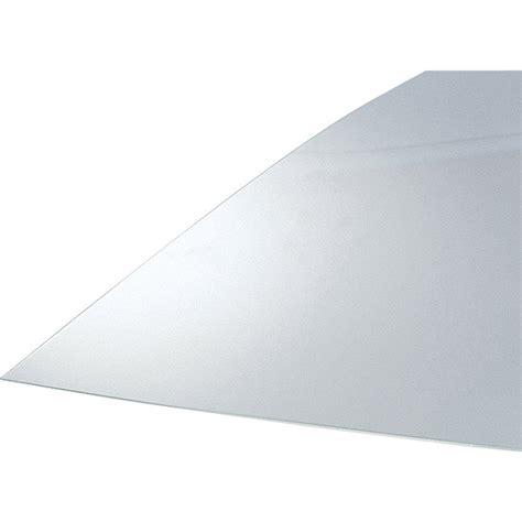 plaque de verre plaque de verre synth 233 tique transparent lisse 233 paisseur 2 5mm 180x60cm leroy merlin